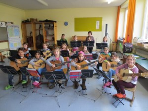 Gitarren und Blockflöten