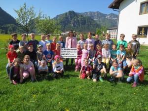 Spende Förderverein der Schule Inzell