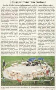 Artikel im Traunsteiner Tagblatt