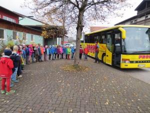 Bustraining 2. Klassen