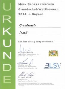 Auszeichnung Sportabzeichen Wettbewerb 001