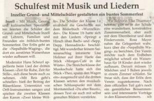 Artikel Schulfest 001