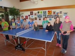 Tischtennisturnier 6. Klasse